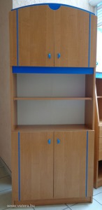Gyerek / ifjúsági bútor polcos szekrény