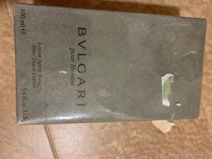 BVLGARI 100 ml after shave Új