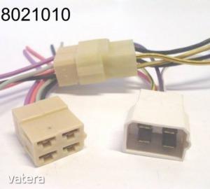 Elektromos csatlakozóház (csoki)  4k pár vezetékkel