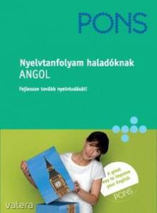 PONS NYELVTANFOLYAM HALADÓKNAK - ANGOL - 2 CD-VEL