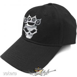 Five Finger Death Punch - Unisex Baseball Cap - Logo (Sonic Silver) baseball sapka