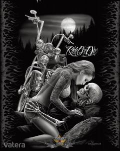 David Gonzales - Ride Or Die.. 30x40.cm. fém tábla kép