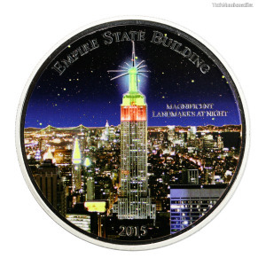 Magnificent Landmarks at Nigth Empire State Building