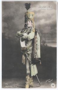 Fedák Sári (János vitéz), színészlap, 1905 körül