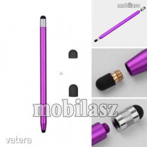 Érintőképernyő ceruza - kapacitív kijelzőhöz, 14,2cm hosszú, cserélhető tartalék érintőpárnákkal ...