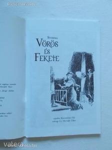 Stendhal, Korcsmáros Pál: Vörös és fekete / Az irodalom klasszikusai képregényben (*79)