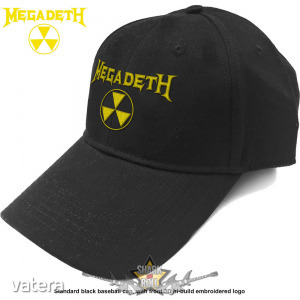 Megadeth - Unisex Baseball Cap. Hazard Logo baseball sapka