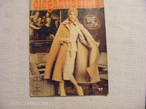 elegantissima - divatlap - olasz ,francia, spanyol  nyelven -1978-87.
