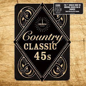 VÁLOGATÁS - Country Classics 45's / kislemez box / 10xSP - 10160 Ft Kép