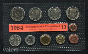 1984 D  Németország  nylon tokos forgalmi sor  BG23