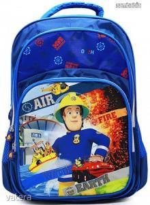 Sam a tűzoltó Iskolatáska, táska 42 cm