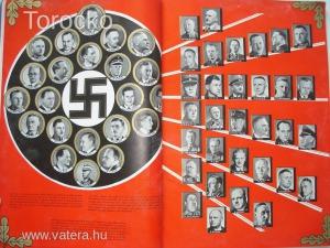 TÖRTÉNELMI KURIÓZUM Tiszti hagyaték 19. - Náci propaganda magazin gyűjtemény - benne Hitler beszédei
