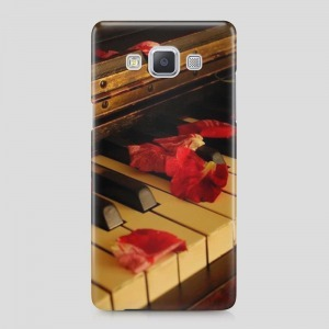 zongora mintás Samsung Galaxy S6 Edge tok