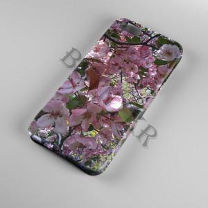 virágos virág mintás Samsung Galaxy A50 tok hátlap tartó