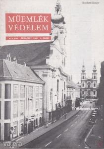 MŰEMLÉKVÉDELEM - XXV. évf., 1981/4.