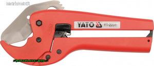 YATO 2231 PVC csővágó 42mm vágás YT-2231