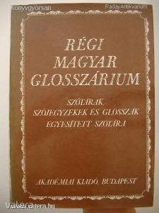 Régi magyar glosszárium (*510)