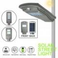 LED utcai világítás, térvilágítás (20W - hideg fehér) napelemes