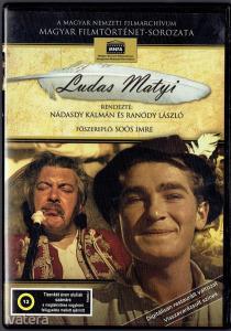 Ludas Matyi (1949) DVD fsz: Soós Imre - digitálisan felújított MANDA kiadás, ritkaság