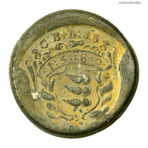 Báthori Kristóf 1/2 Tallér ólomleveret 1580