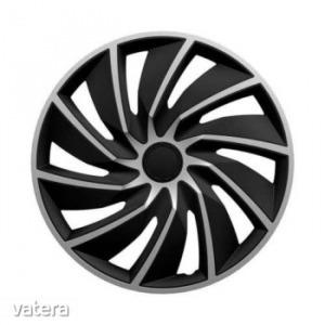 15 Turbo Silver Black Dísztárcsa