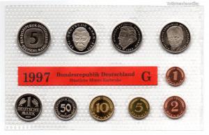 Németország Forgalmi sor 1997 G