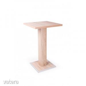 BÁR ASZTAL 66x66 TÖBB SZÍNBEN - Laminált bútorlap, duplungolt keret, lábazati fém élvédő
