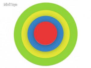 Az első kirakósom - Zöld kör