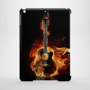gitáros gitár mintás iPad Air tok hátlap