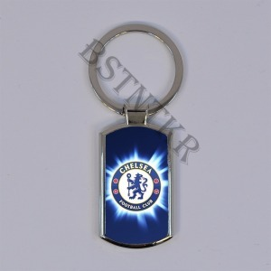 FC Chelsea mintás elegáns fém kulcstartó - 2580 Ft Kép
