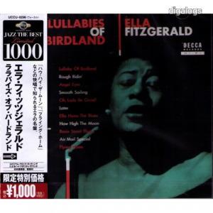 Ella Fitzgerald Lullabies Of Birdland japán CD Új!