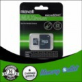 32GB MAXELL Maximum microSDHC Class 10 + SD adapter