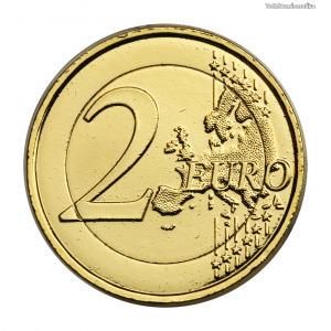 Franciaország aranyozott 2 Euro 2011 Zene Ünnepe