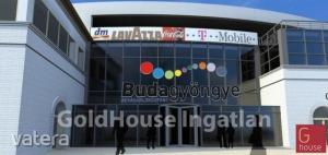 Utcai bejárattal Üzlethelyiségek Budapest  Budagyöngye