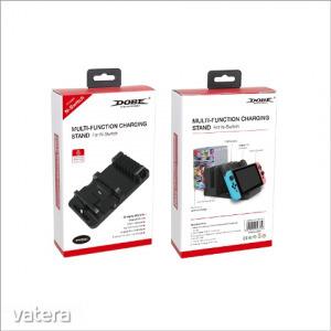 töltőállvány A Nintendo Switch / Pro vezérlő / Joy Con + USB HUB + 6 játékot töltőállvány