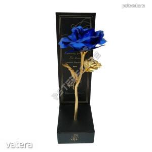 Fémrózsa dobozban - Kék