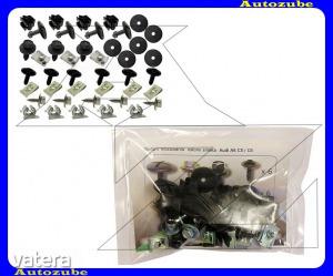 AUDI  A6  C5  1997.04-2004.04  /4B/  Alsó  motorvédő  burkolat  rögzítő  készlet  (42db)  {ROMIX}