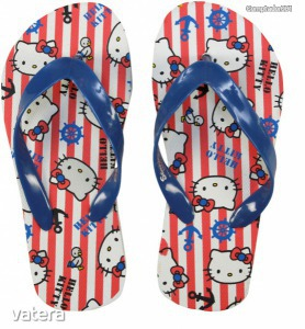 Hello Kitty flip-flop papucs