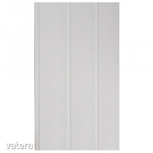 Falburkolat Fehér Vilo PVC, 0,8 x 10 x 300 cm (3m2/csomag)