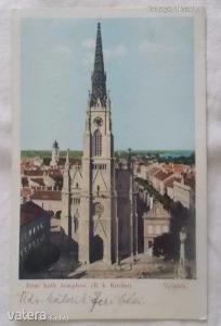 Újvidék / Róm. kath. templom. (R. k. Kirche) 1905, Délvidék (*79)
