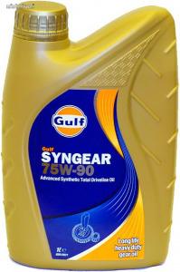 Gulf Syngear 75W90 hajtómű olaj 1L