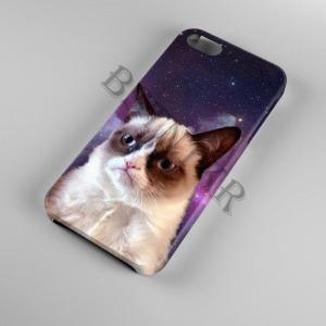 Grumpy Cat mintás Samsung Galaxy A50 tok hátlap tartó