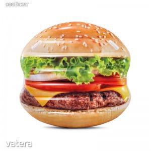 INTEX Felfújható Hamburger gumimatrac 145cm x 142cm