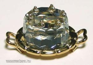 Swarovski kristály szülinapi torta