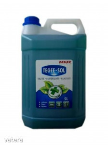 Tegee-Sol 5l szolárium fertőtlenítő.