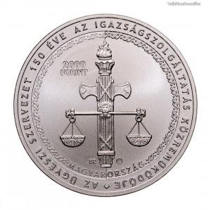 150 éves Ügyészi Szervezet 2000 Forint 2021