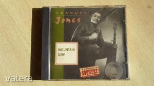 Grandpa Jones, Mountain Dew CD - Original country - Point prod 1992 holland kiadás, karcmentes