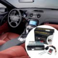 Bluetooth autórádió fejegység távirányítóval, MP3 lejátszás, USB/SD
