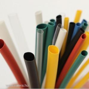 140db-os zsugorcső készlet - Színes - 2:1 zsugorodás - Heat Shrink Tube