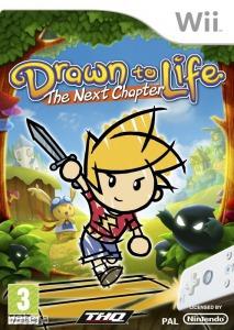 Nintendo Wii Játék Drawn to life - The next chapter